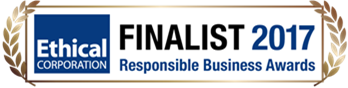 Finalist in 2017 Ethical corporaion